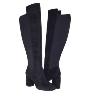 NEW Nine West Kerianna Tall Pull On Suede Boots